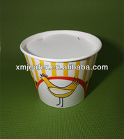 Eco-friendly food grade paper bucket fried chicken containers