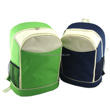 insulated Aluminum foil polyester 18L cooler backpack for picnic