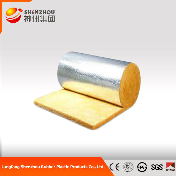 thermal insulation roofing tiles glass wool blanket aluminum foiled double sides
