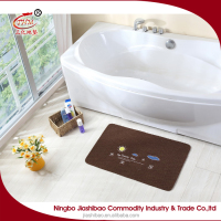 Beautiful colorful bathroom non slip mat