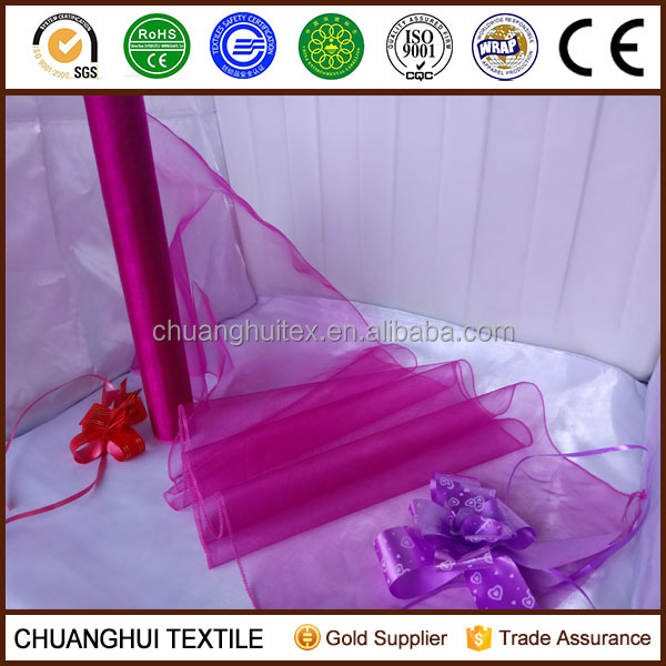 nylon cheap organza fabric,organza roll,nylon organza