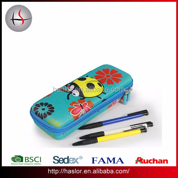 Kids cute bee pattern 3D EVA style school pencil case