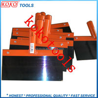 carbon steel heavy duty tile window snow concrete floor scraper