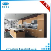 Aluminium Frame Metal Kitchen Cabinets Sale