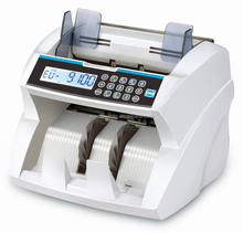 Hot Selling Front Loading Money Counter with Adjustable Counting Speed Suitable for Multi-Currency Cash Counting Machine