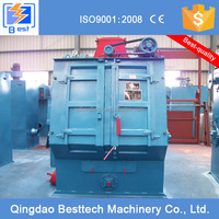 Q3210 crawler type shot blasting machine, sandblaster, cast iron foundries
