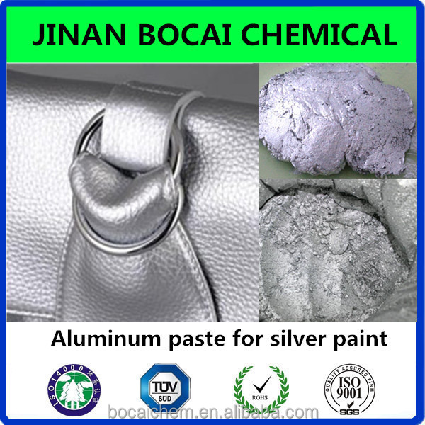reflective aluminum pigment for roof coating maker adding silver color