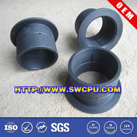 HDPE/PA Pipe Fitting Socket Joint Plastic Stub Flange For Water Line