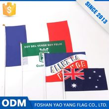 Alibaba Store New Product Custon Polyester Hand Held National Safety Flag