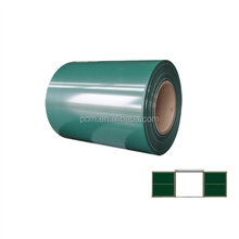 Protective Film Covered Writing Greenboard Surface Material PPGI Steel Sheet