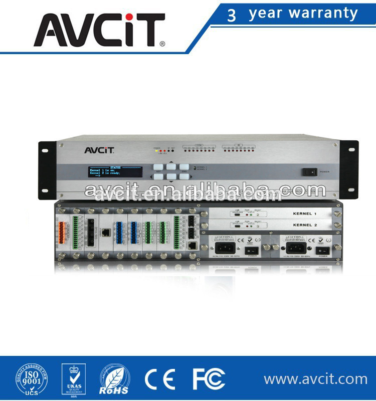 36x36 Full Seamless Multi-format Matrix Switcher, E-CP3R Central Controller, 7 Inch Touch Screen, AV Equipment Solution