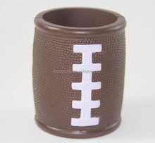 PU Foam Can Coolers Stubby Holder,Football Can Cooler