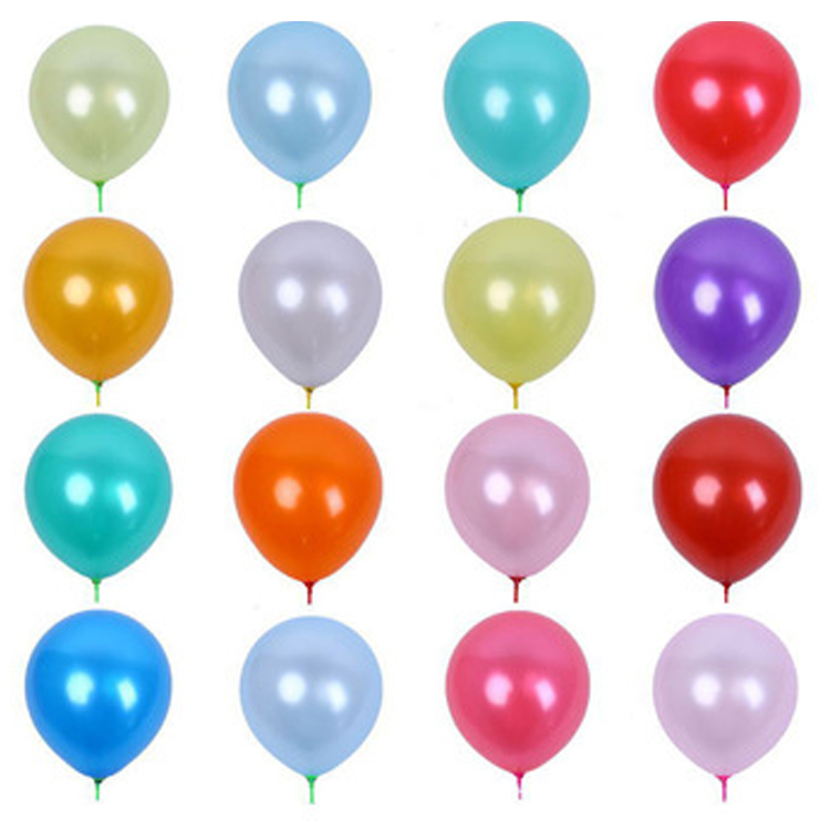 12 Inch 3.2g All Colors Balloons Birthday Supplies Kids Latex Balloon