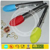stainless steel handle tong with bbq