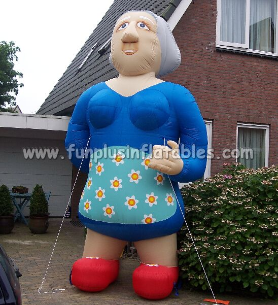 kindly inflatable Sarah model, inflatable old women models for event P5012(2)