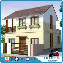 Prefabricated Steel Structure House and Villa Building Construction Project
