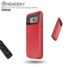 2017 newest battery power case portable phone charger mobile phone battery case for Samsung galaxy S8 plus in stock