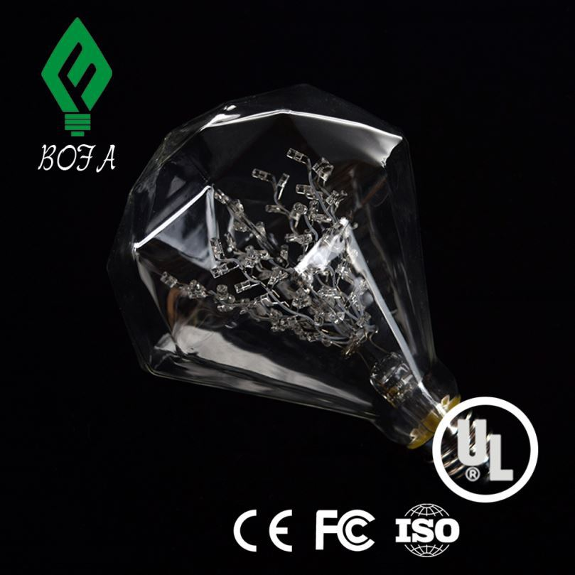 Diamond E27 3W Led Grow Spot Light 10pcs/lot - Can be Customized Full Spectrum for growing flower