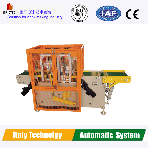 Automatic clay brick cutter, Italy Cosmec Technology Brick Cutting Machine