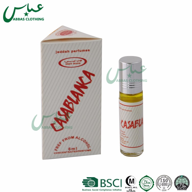 ABBAS Brand Free Shipping gifts 8ML glass islamic mix flavor muslim prayer perfume 02