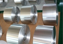 jumbo roll silver aluminum foil for household from China