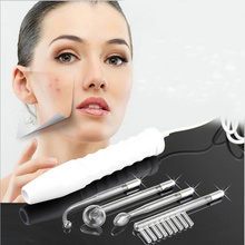 High Frequency D'arsonval Wand 4 in 1 Spot Acne Remover Therapy Face Hair Body Massage Face Skin Care Spa Beauty Device Machine