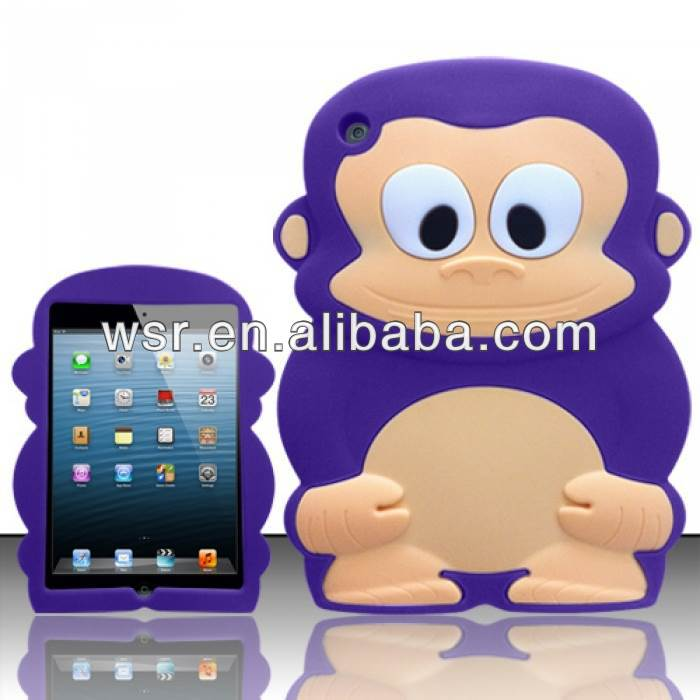 For Apple iPad Mini Cover 3D Silicone Animal Case