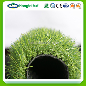 Soft & safe colorful environmental protection PE/Polyethylene landscaping artificial lawn grass for kids football