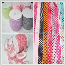 Custom print fold over elastic