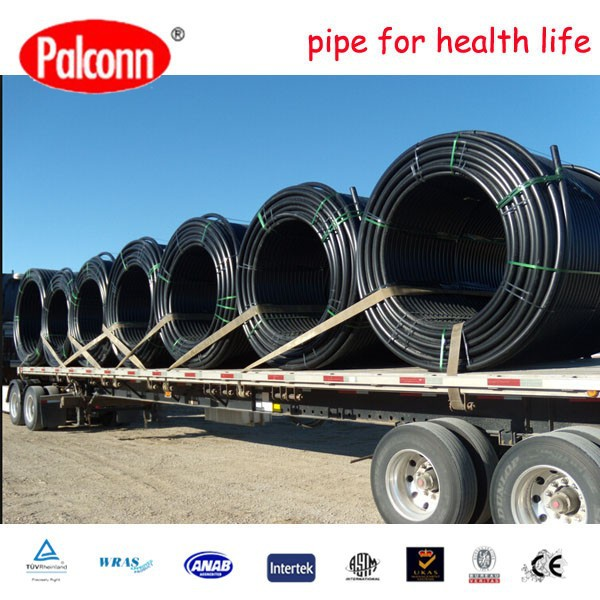 Palconn HDPE pipe 2014 weight price in roll plant A405