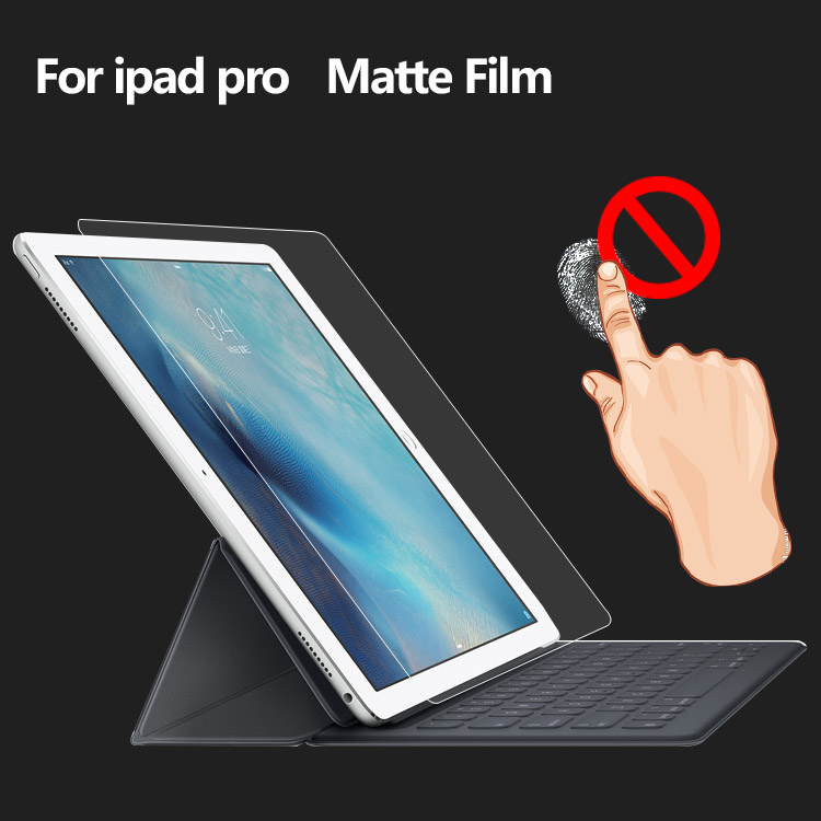 Tablet matte lcd anti glare screen protector for ipad pro screen protective film