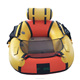 2018 COMAX One person small inflatable fishing boat with CE certification PVC material boat, air mat floor