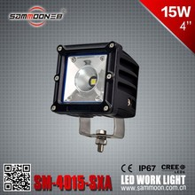 15W LED Work Light For Trucks, SUV,4x4 off road_SM-4015-SXA Automobile new product 2016 15w led work light