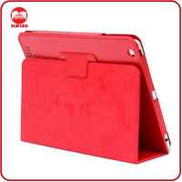 Manufacturer New Arrive Red Luxury Premium Leather Case for ipad Air 5