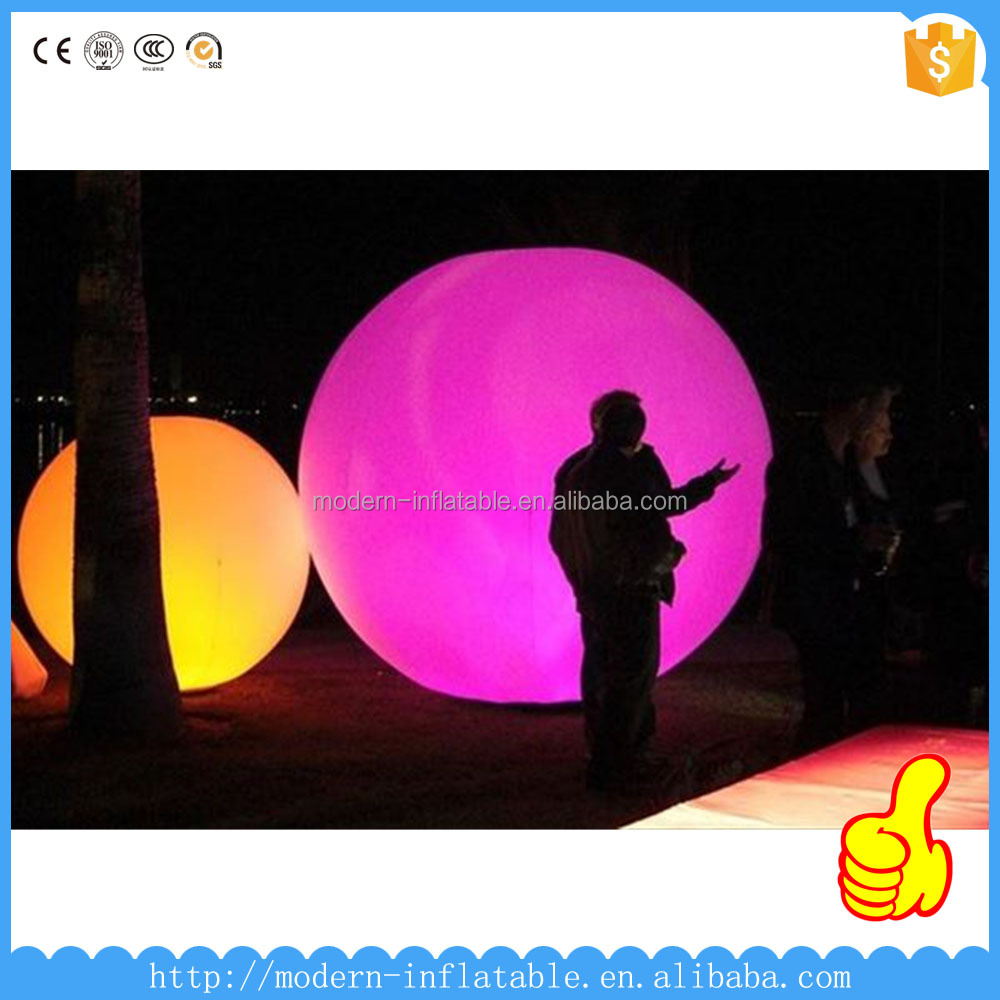 Event Lighting Inflatable,inflatable light ball,inflatable decorative lighting balloon