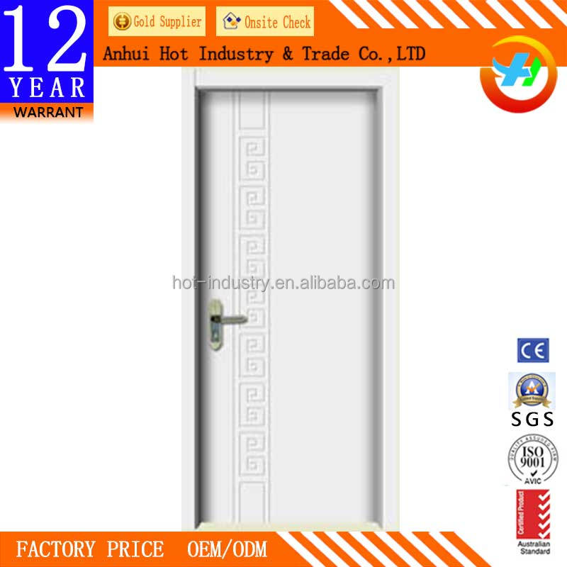 Can Customize Door With Flower Designs Factory Direct Wood Solid Wooden Fancy Door Soundproof Bedroom Door