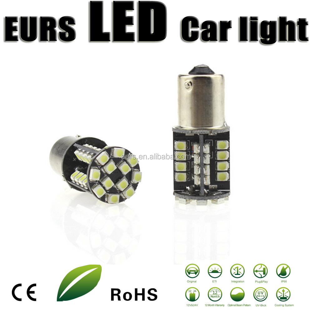 1156 1157 3528 1210 12V 5W 6000K 600LM LED Canbus decoding highlight taillights smd car turning reversing lights