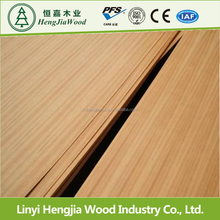 bruma teak plywood for hotel decoration board 5.2mm