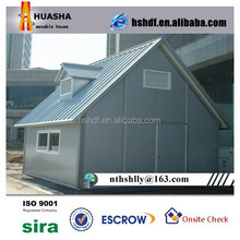 Outdoor portable sandwich panel storage shed house