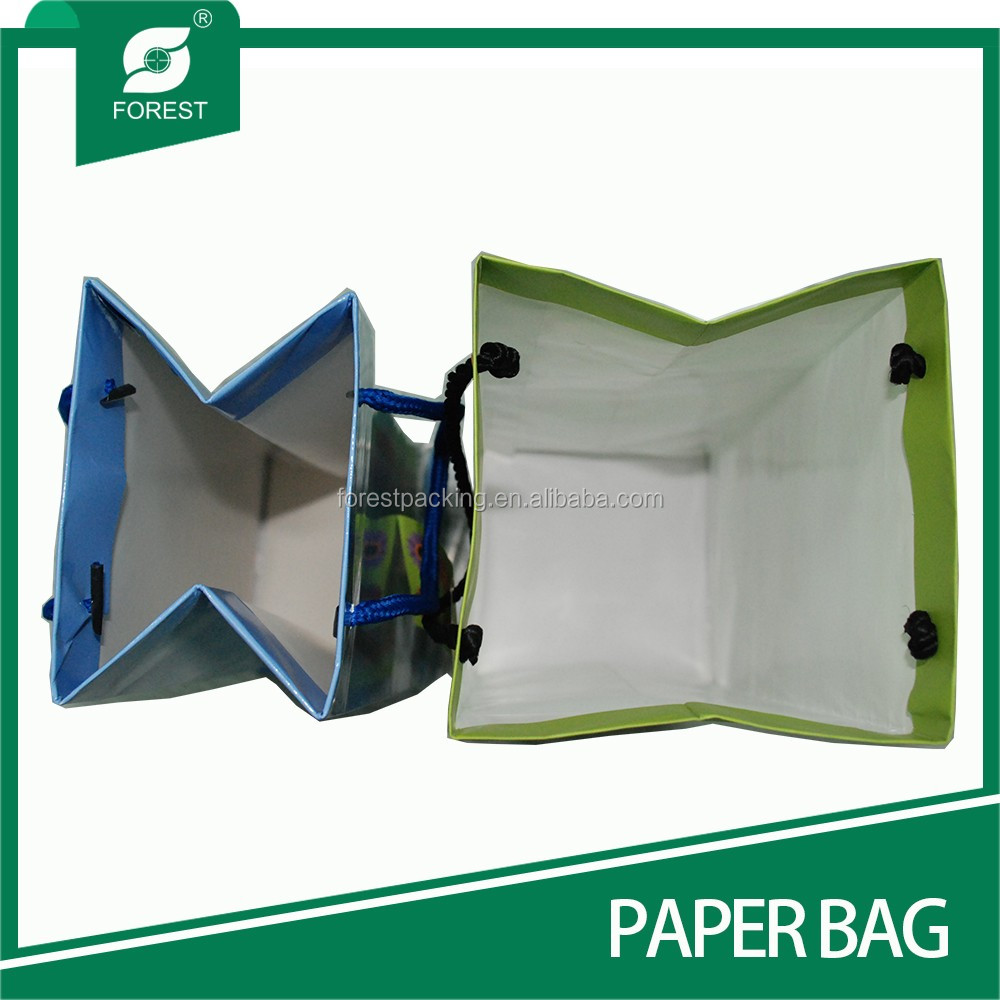 Customized luxury watch gift paper bag