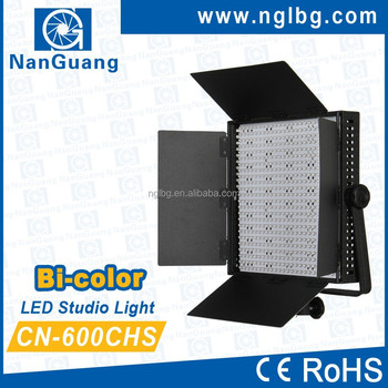 Nanguang CN-600CHS Bi Color LED Studio Lighting Equipment, perfect for Photo and Video
