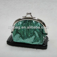 2013 With Metal Frame PU Ladies Purse
