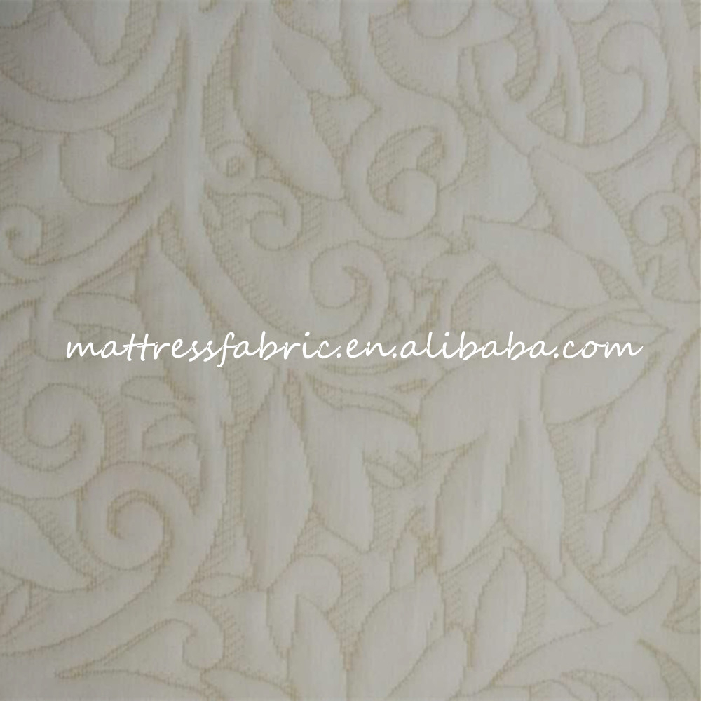 Hangzhou textile hot-selling 100% polyester jacquard upholstery fabric for different types of mattress