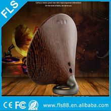 New Beautiful Home Retro Wood Bluetooth Portable Solo One Classical Speaker with Touch Buttons