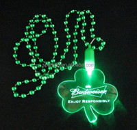 bead LED Flashing Necklace Mardi gras