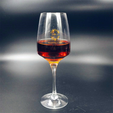 bulk crystal unleaded red wine glass