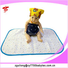 safety and lovely Waterproof Baby Changing Mat