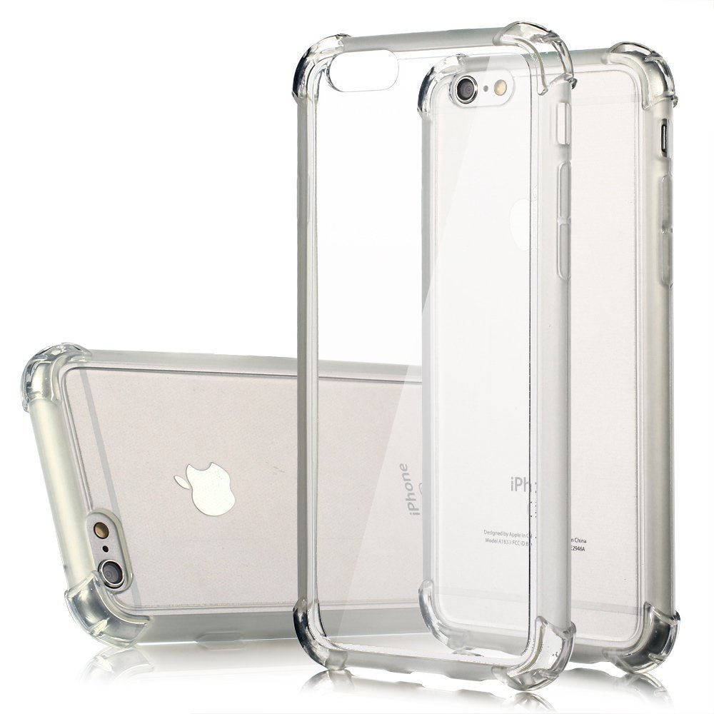 transparent New Shockproof Clear Silicone Soft TPU Case Cover For iPhone SE 5 6 6s