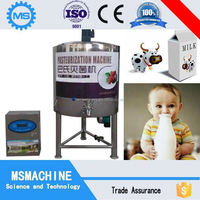 Good quality semi automatic plate pasteurizer for syrup ice cream yogurt