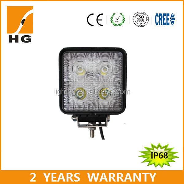 4.3inch led work lights 40W led driving lights 4*4 for jeep Snap-on car accessory 4.3 inch led driving light 40watt